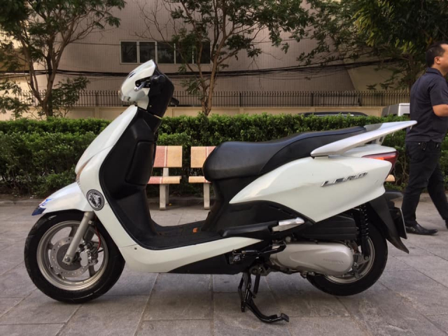Honda Lead Fi mau trang bien Ha noi nguyen ban - 5