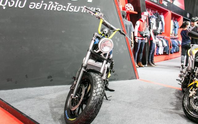 BIMS 2019 Honda Rebel 300 lot xac an tuong voi phong cach Bobber choi chang - 4