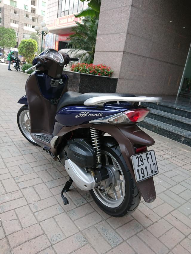 Honda Sh mode 2016 Xanh cuu long chinh chu HN moi nguyen ban - 3