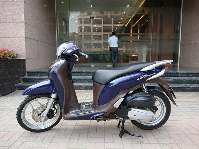 Honda Sh mode 2016 Xanh cuu long chinh chu HN moi nguyen ban - 5