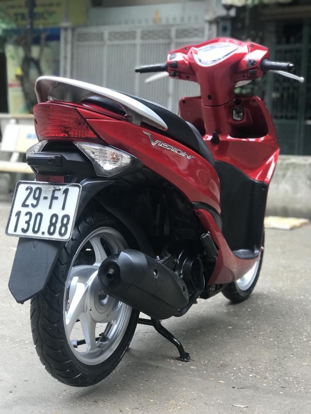 Honda Vision mau do chinh chu 2013 - 4