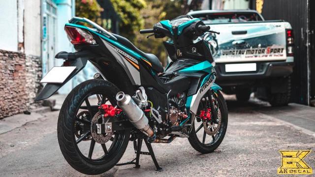 Honda Winner don dep va nang cap may tai Minh Luan Sport - 4