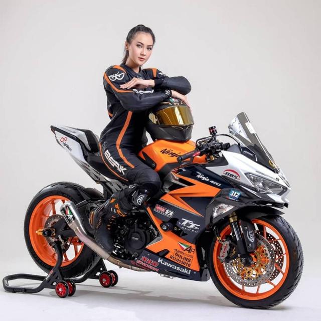 Kawasaki Ninja 250 do cuc khung voi cau hinh duong dua - 10