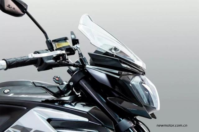 Lifan KP350 trinh lang duoc trang bi Upside Down ABS voi gia ban Re - 4