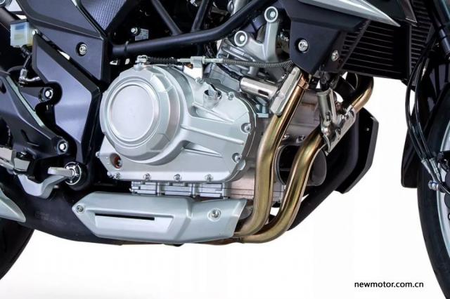 Lifan KP350 trinh lang duoc trang bi Upside Down ABS voi gia ban Re - 5