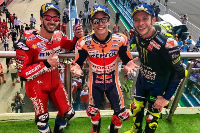 MotoGP 2019 Duong kim vo dich Marc Marquez menh danh nguoi tang hinh o GP Argentina