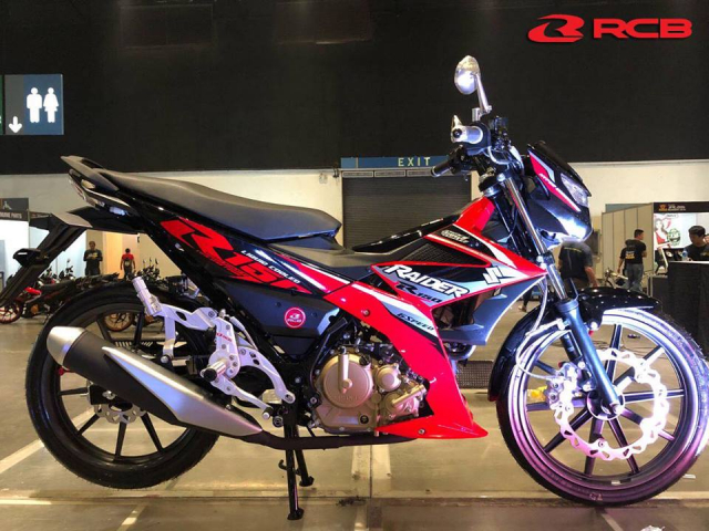 Racingboy Viet Nam hoi sinh mam 10 cay danh cho Suzuki Raider Fi 150 voi dien mao moi hon - 3