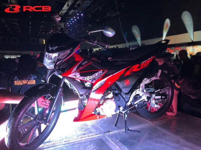 Racingboy Viet Nam hoi sinh mam 10 cay danh cho Suzuki Raider Fi 150 voi dien mao moi hon - 8