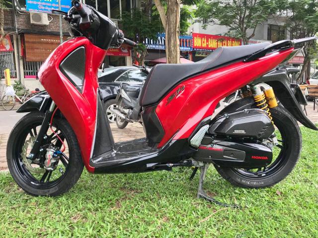 SH150i do full kieng day loi cuon cua tay choi xe Ha Noi - 4