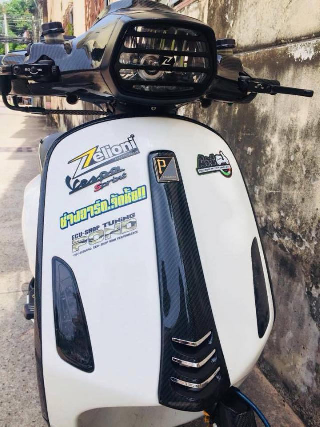 Vespa Sprint pha vo phong cach co dien de dem lai su khac biet - 5