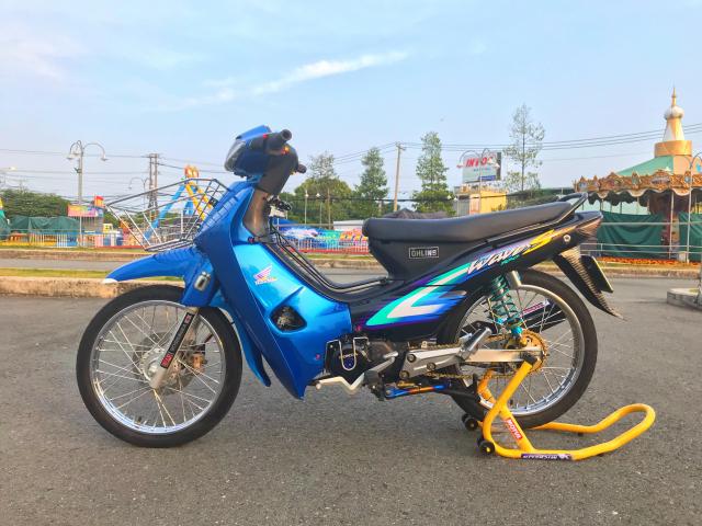 Wave Nho S100 Xanh Den