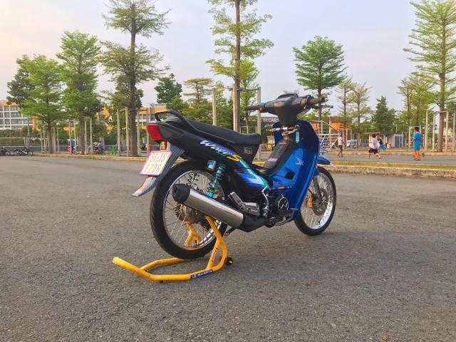 Wave Nho S100 Xanh Den - 3