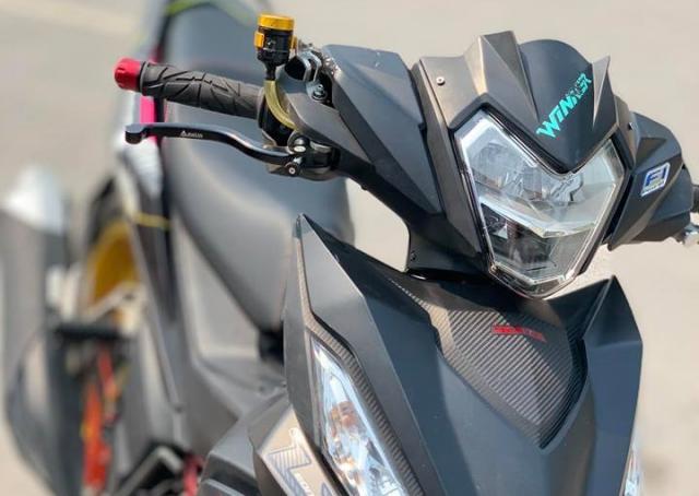 Winner 150 do dan chan co bap day chat luong cua biker Thai Binh