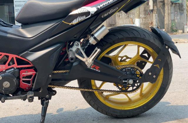 Winner 150 do dan chan co bap day chat luong cua biker Thai Binh - 6