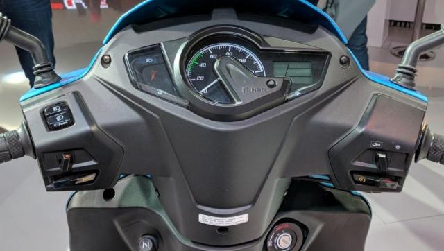 Maestro Edge 125 2019 doi thu Honda LEAD vua ra mat voi gia gan 18 trieu Dong - 4