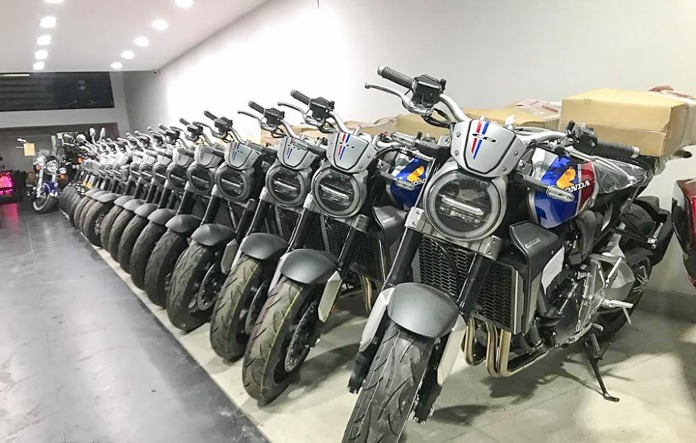 Honda CB1000R Limited Edition 2019 do bo vao thi truong Viet Nam