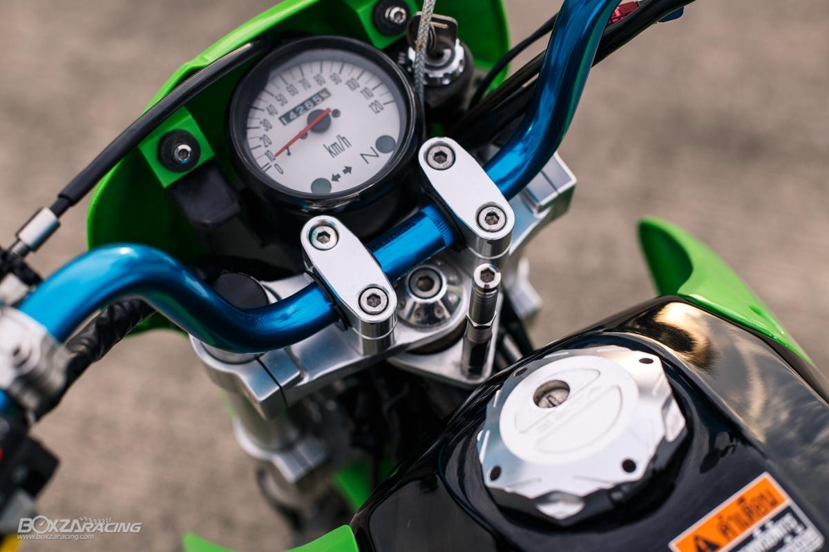Kawasaki KSR 110 do tuyet dinh voi dan chan dep ma mi - 6