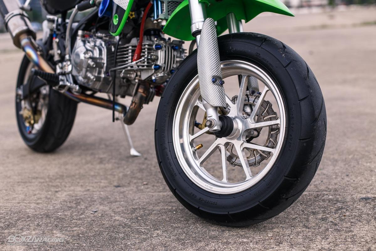 Kawasaki KSR 110 do tuyet dinh voi dan chan dep ma mi - 9