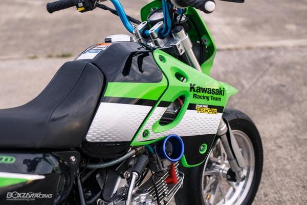 Kawasaki KSR 110 do tuyet dinh voi dan chan dep ma mi