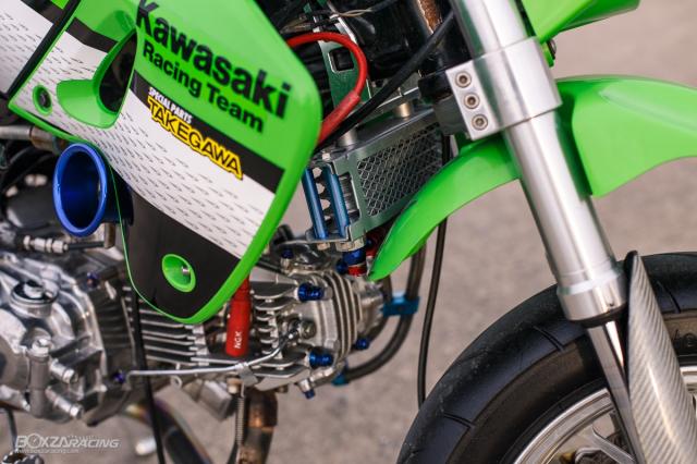 Kawasaki KSR 110 do tuyet dinh voi dan chan dep ma mi - 8
