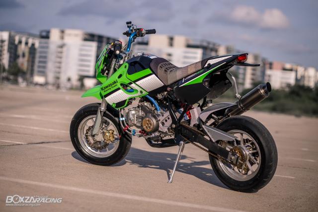 Kawasaki KSR 110 do tuyet dinh voi dan chan dep ma mi - 14