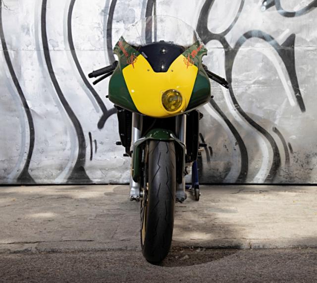 Ducati 999 do phong cach an tuong den tu XTR Pepo
