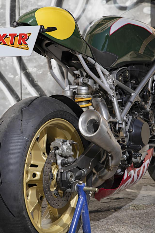 Ducati 999 do phong cach an tuong den tu XTR Pepo - 8