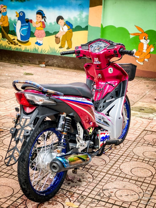 Wave 110 do Style Thailand dep kinh hon cua dan choi pho nui - 3