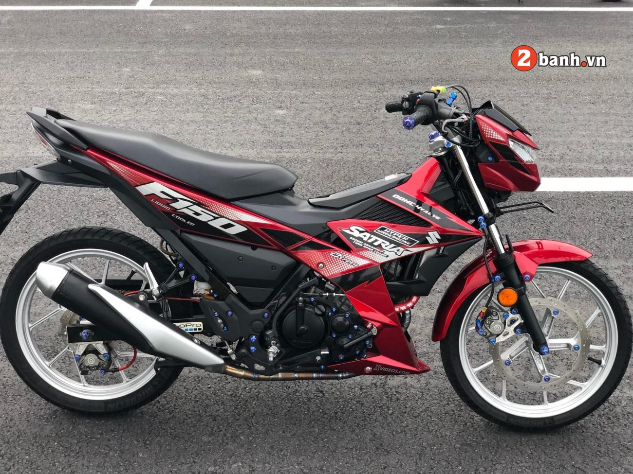 Satria 150 do tao bao voi he thong phanh duoc nang cap toan dien - 3