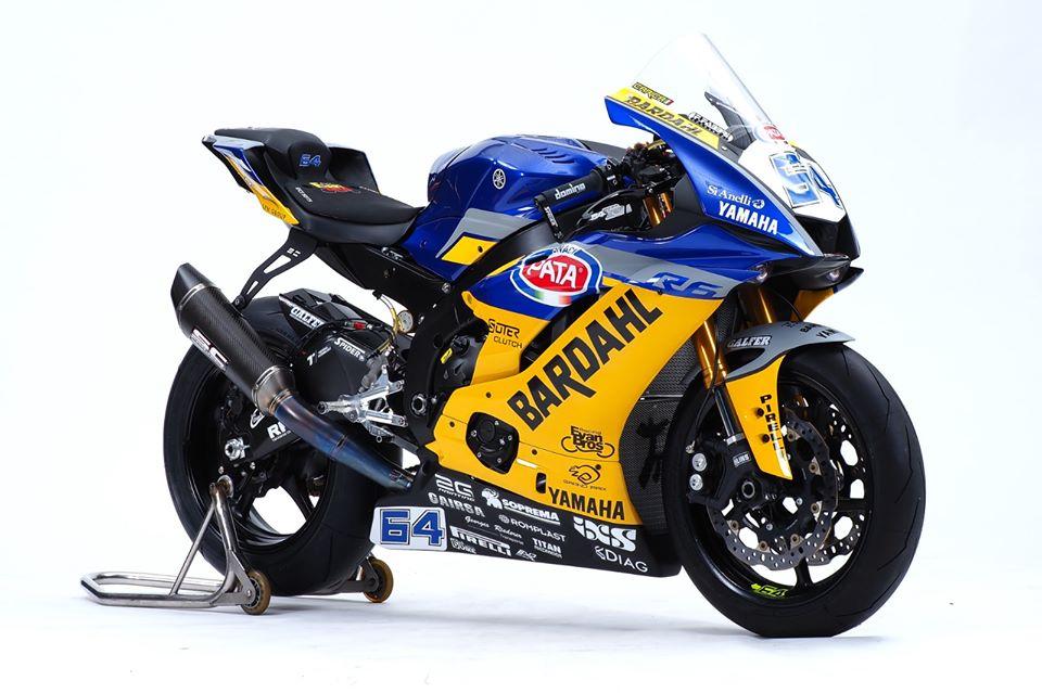 Yamaha R6 do sieu an tuong theo phong cach duong dua