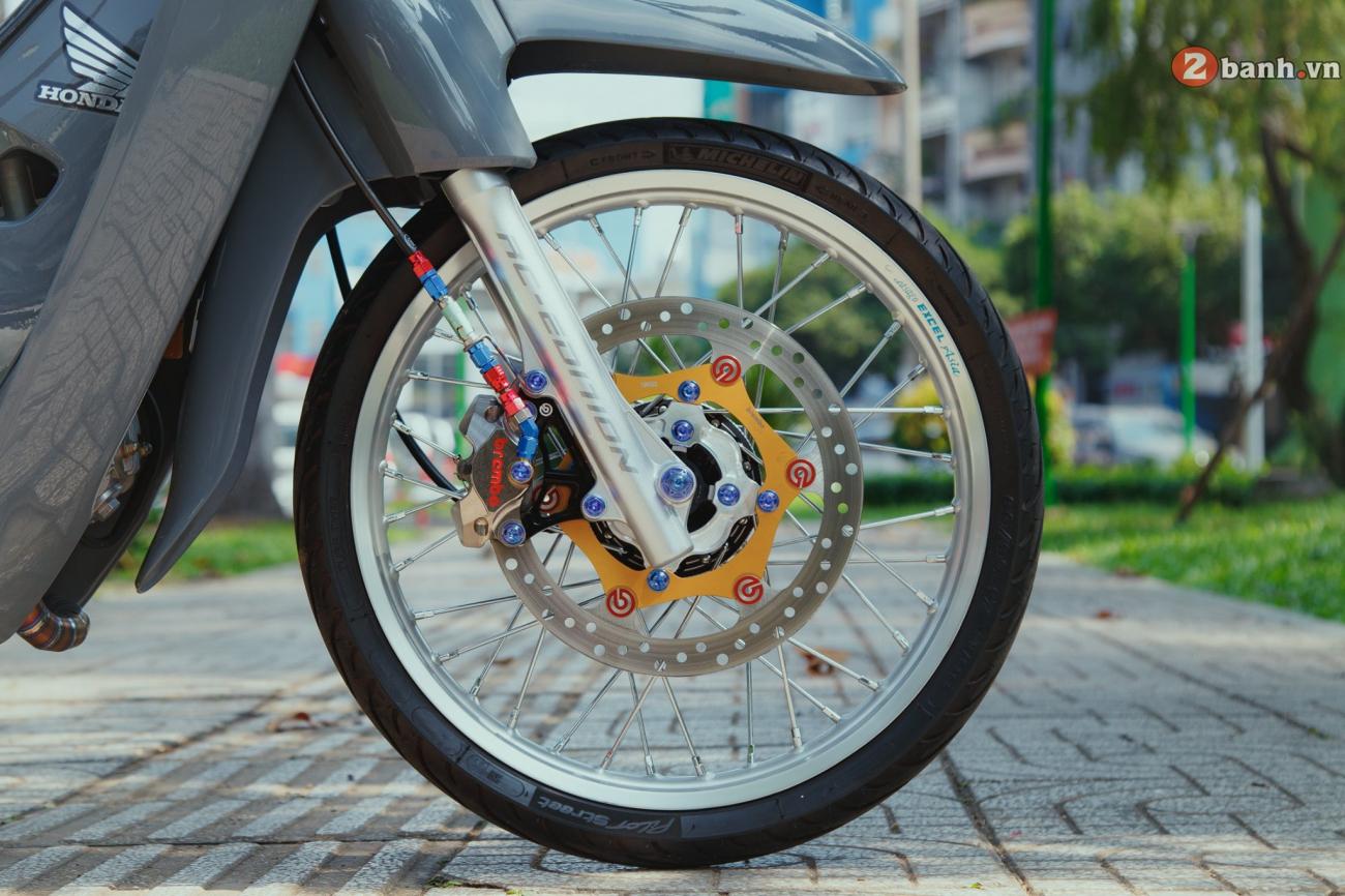 Wave 110 do kiet tac hoan my day cam xuc cua biker Dong Nai - 9
