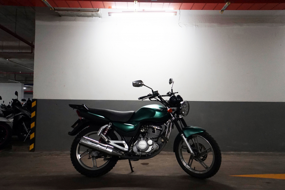 can nhuong lai xe Suzuki En150 Odo 21k - 4