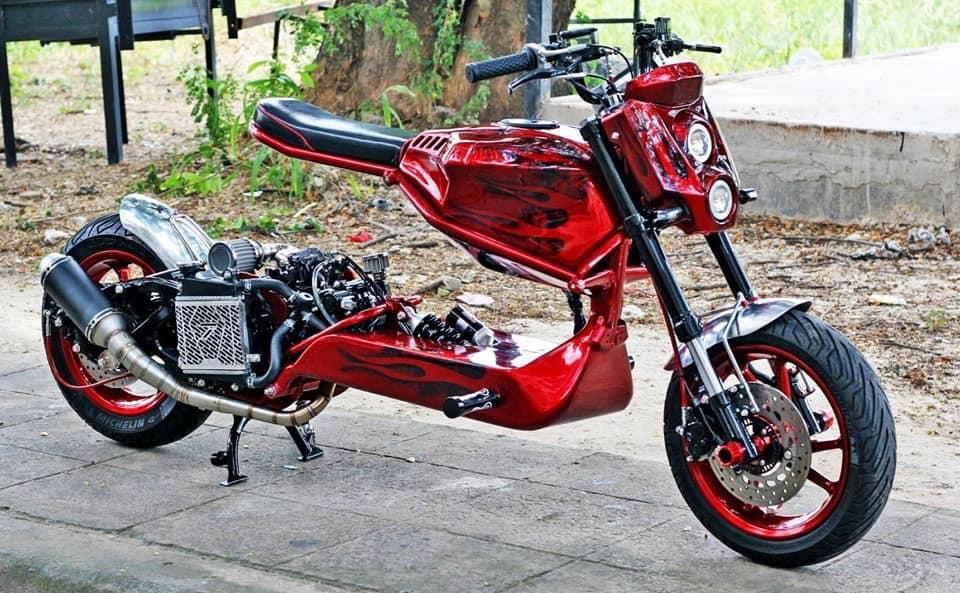 Sieu pham tay ga bi an voi hiem mao 1 0 2 cua biker nuoc ngoai - 10