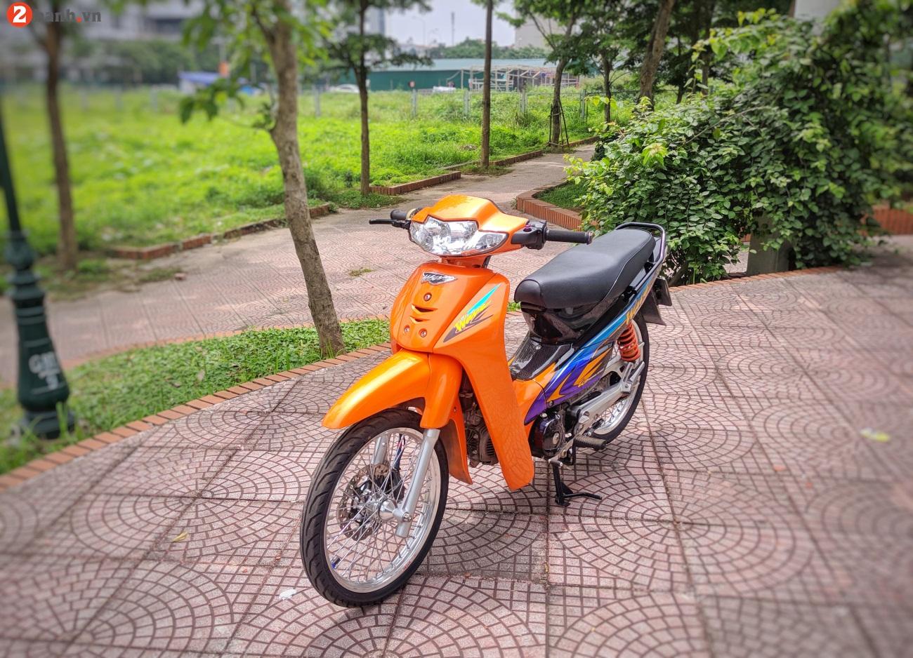 Wave Thai 110 full option chat choi voi bien so tu quy 7 - 18