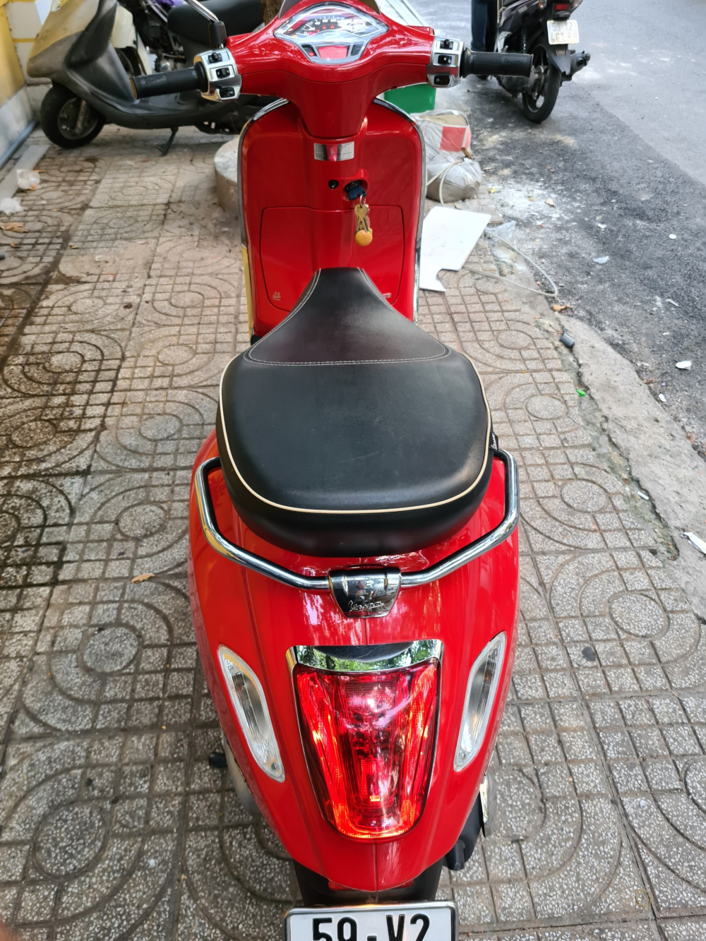 Vespa Sprint ABS dong co iget