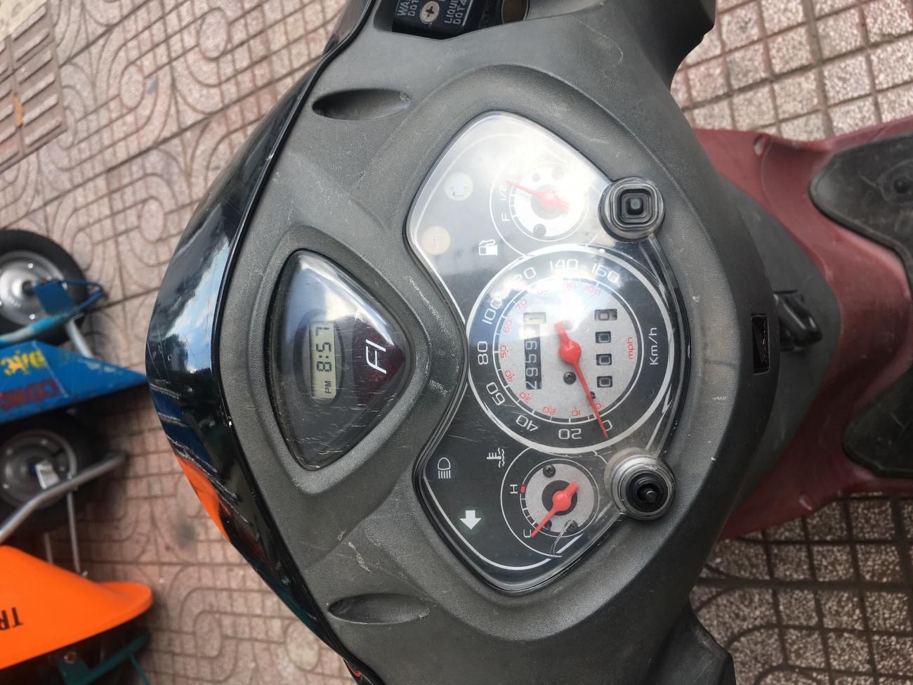 Ban xe Honda PS 150cc nhap khau mau den 35000000 d - 4