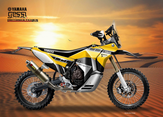 Yamaha Tenere 700 Rally Racer lo dien voi hinh anh tao bao - 3