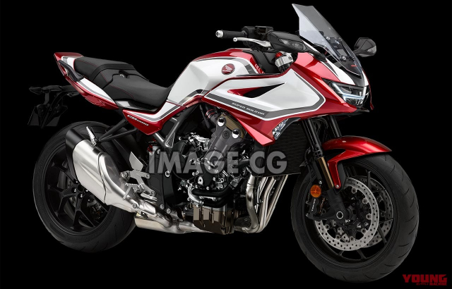 Honda CB1300 Super Bol dor va CB1300SF lo dien thiet ke moi - 3