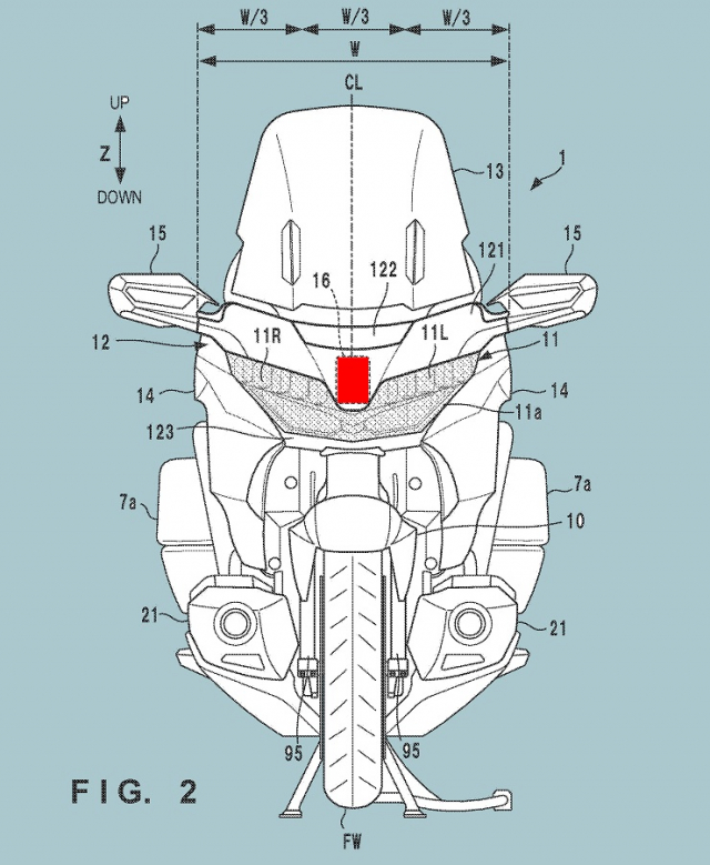 Honda Goldwing tiet lo thiet ke Radar hanh trinh thich ung - 3