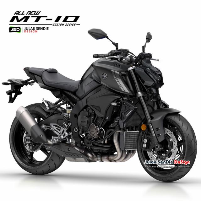 Lo dien y tuong thiet ke Yamaha MT10 2021 - 7
