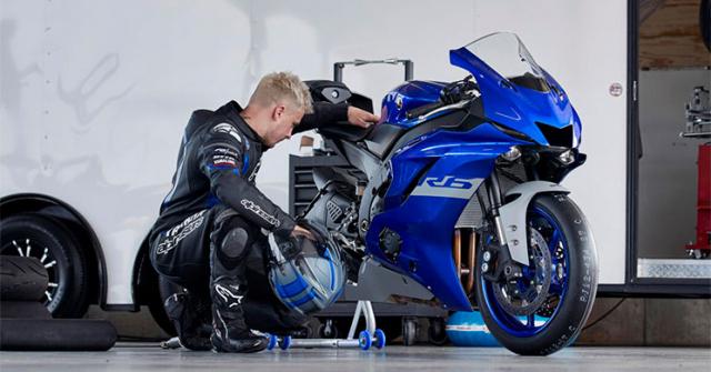 Yamaha R6 Race 2021 trinh lang voi goi phu kien GYTR tuy chon