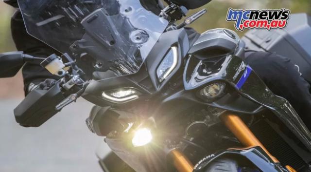 Yamaha Tracer 9 GT 2021 lo dien voi ve ngoai cuc an tuong - 7
