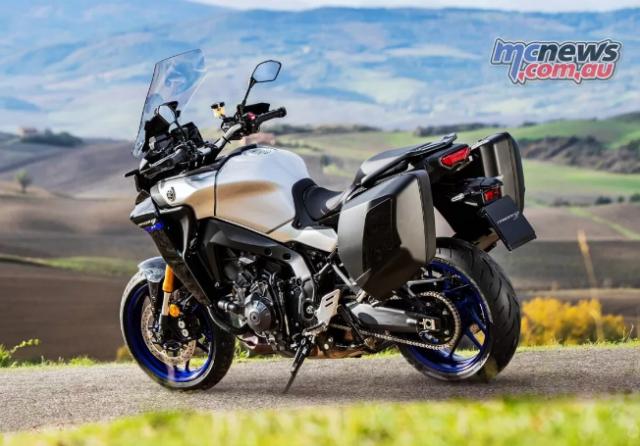 Yamaha Tracer 9 GT 2021 lo dien voi ve ngoai cuc an tuong - 11
