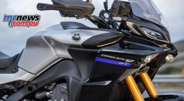 Yamaha Tracer 9 GT 2021 lo dien voi ve ngoai cuc an tuong - 14