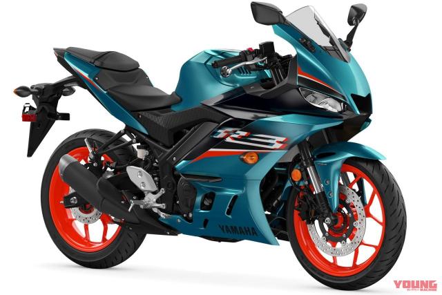 Yamaha R3 phien ban 2021 chinh thuc ra mat