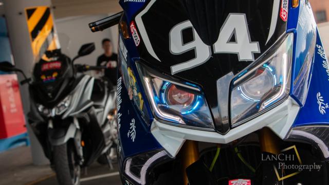 Yamaha TMAX 530 do Turbo cong suat 108 hp dang kinh ngac - 19