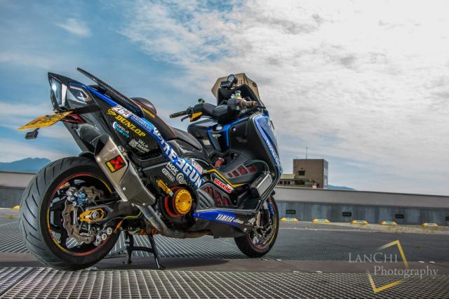 Yamaha TMAX 530 do Turbo cong suat 108 hp dang kinh ngac - 8