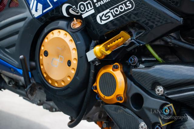 Yamaha TMAX 530 do Turbo cong suat 108 hp dang kinh ngac - 16