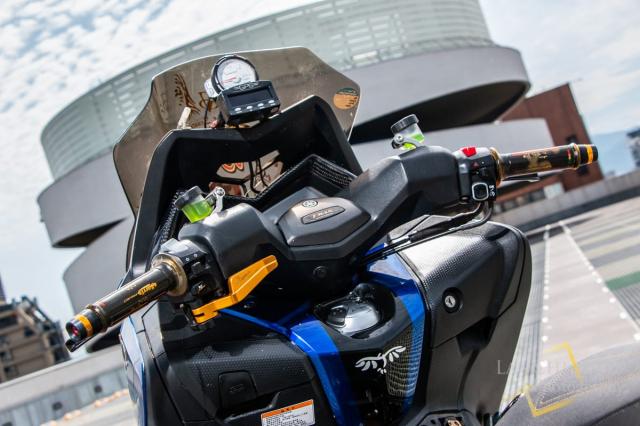 Yamaha TMAX 530 do Turbo cong suat 108 hp dang kinh ngac - 24