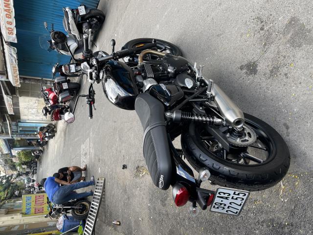_ Moi ve Triumph Street Twin 900 ABS Fom moi HQCN Dang ky 112020 chinh 1 chu odo 500km - 2